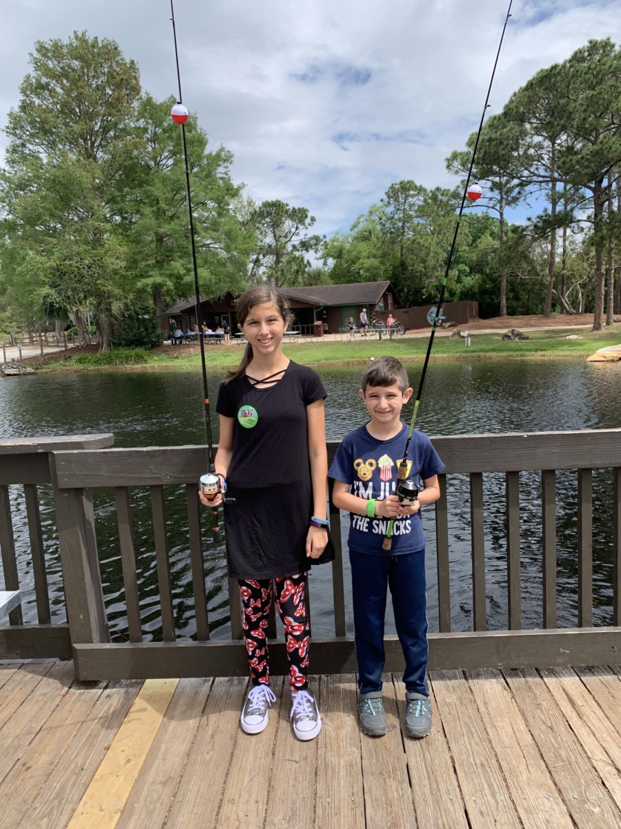 Fishing at Fort Wilderness 6