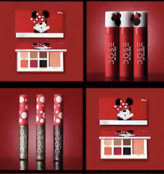 Dose of Colors Cosmetics Minnie Mouse Line 5