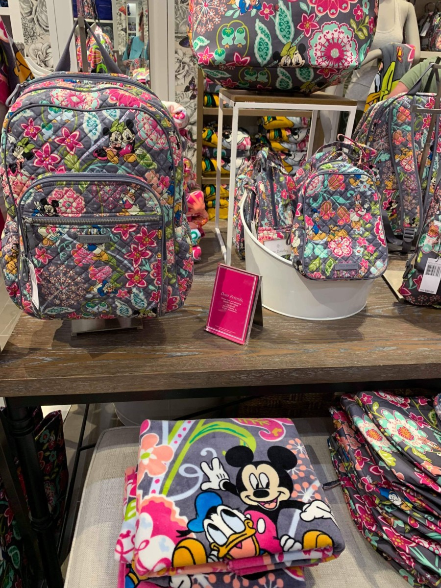 New Disney Vera Bradley Print Released Today at Disney Springs 14