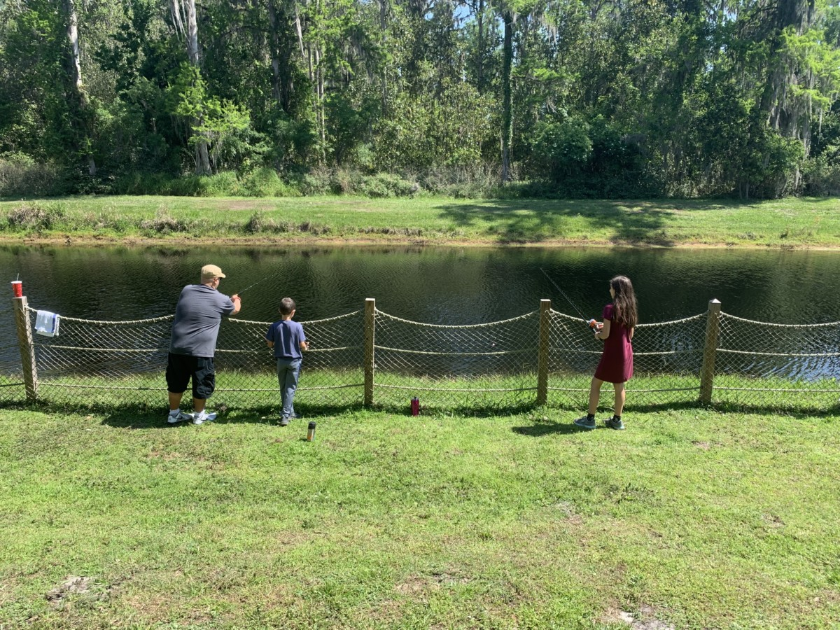 Fishing at Fort Wilderness 5