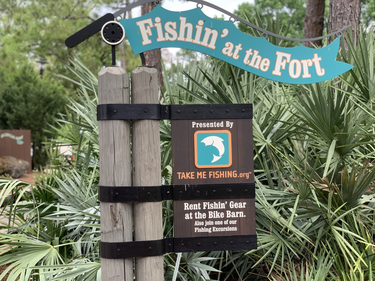 Fishing at Fort Wilderness 2