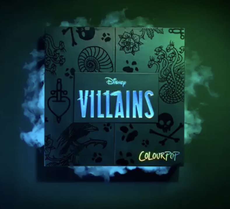 New Disney Villains ColourPop make-up sets gorgeously terrifying! Coming soon! 2