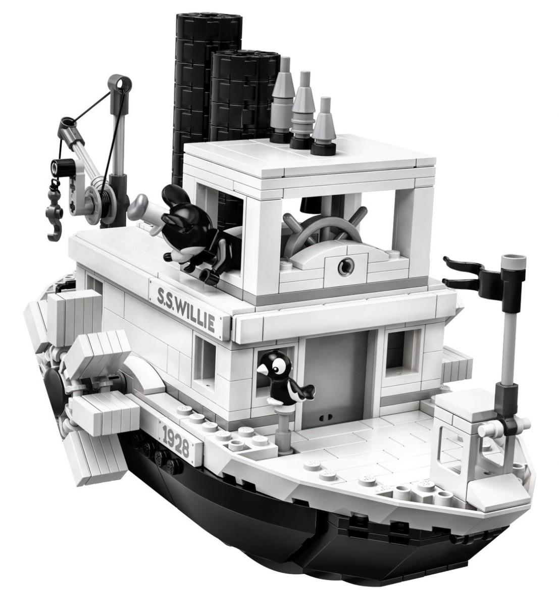 LEGO Steamboat Willie Set Reveal! Details Below! 7