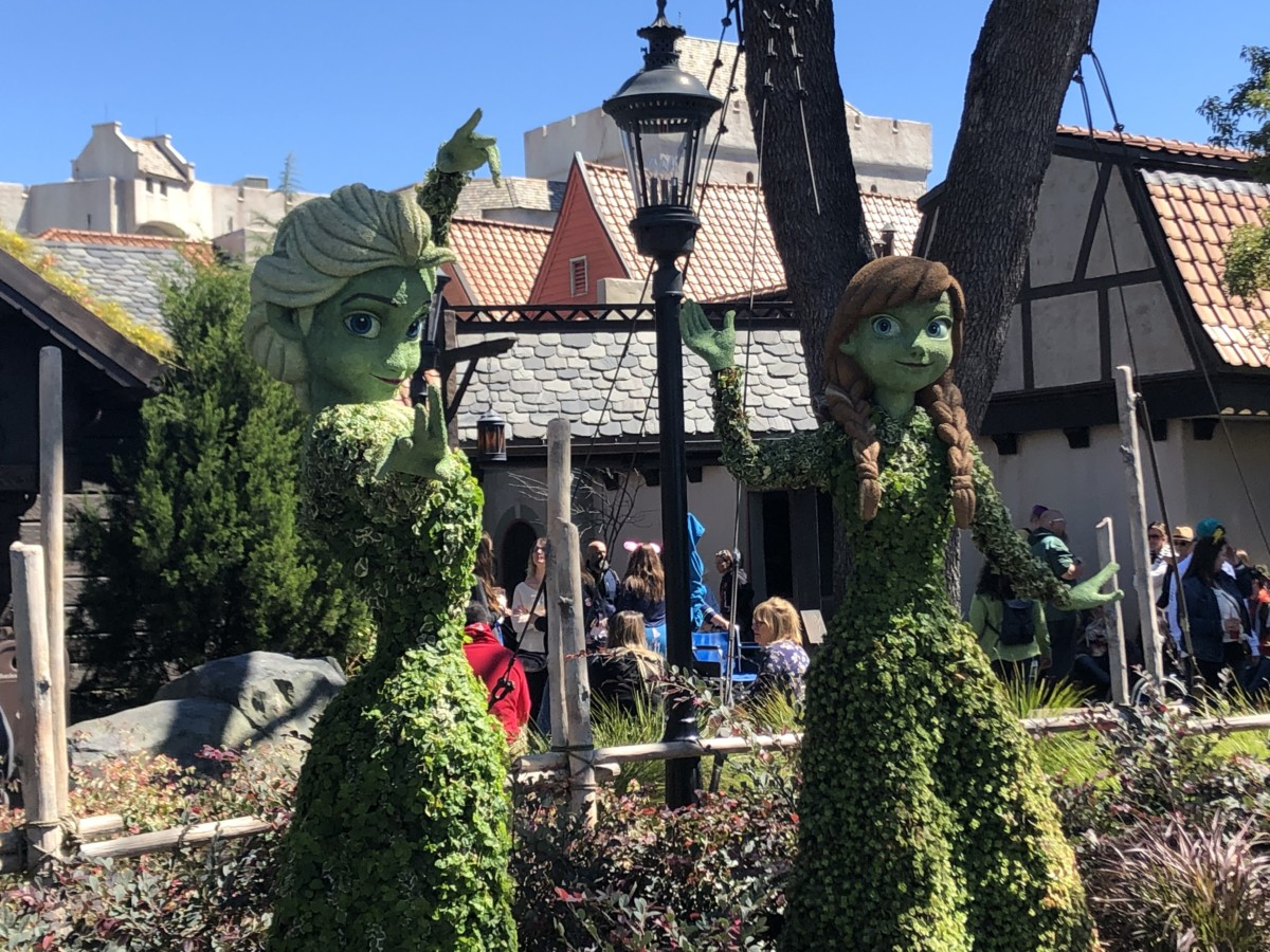 Photos from Opening Day of the Epcot International Flower and Garden Festival 2019! #FreshEpcot 25