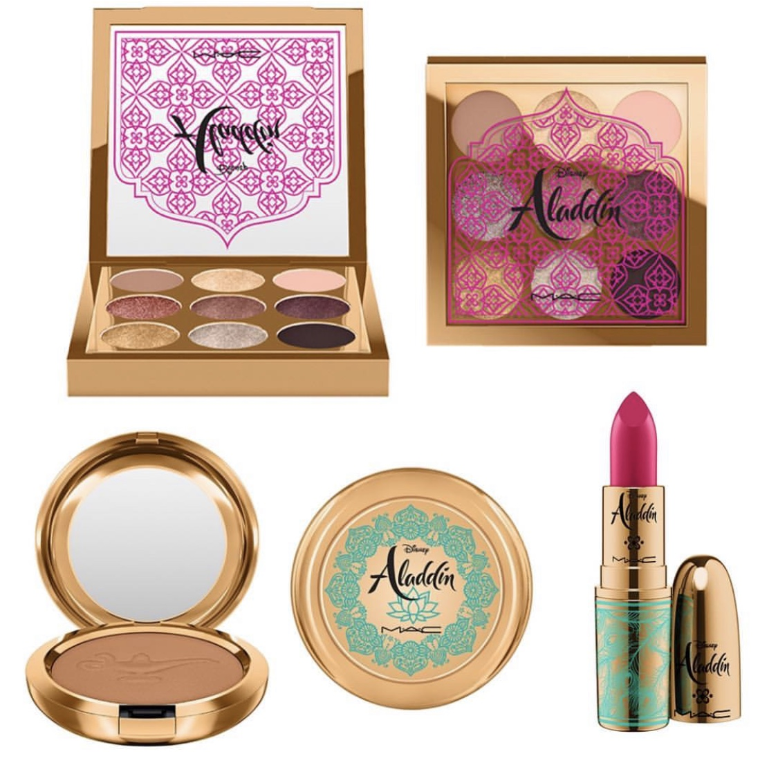 The Disney Aladdin Collection by MAC Cosmetics is Coming! #DisneyStyle 3