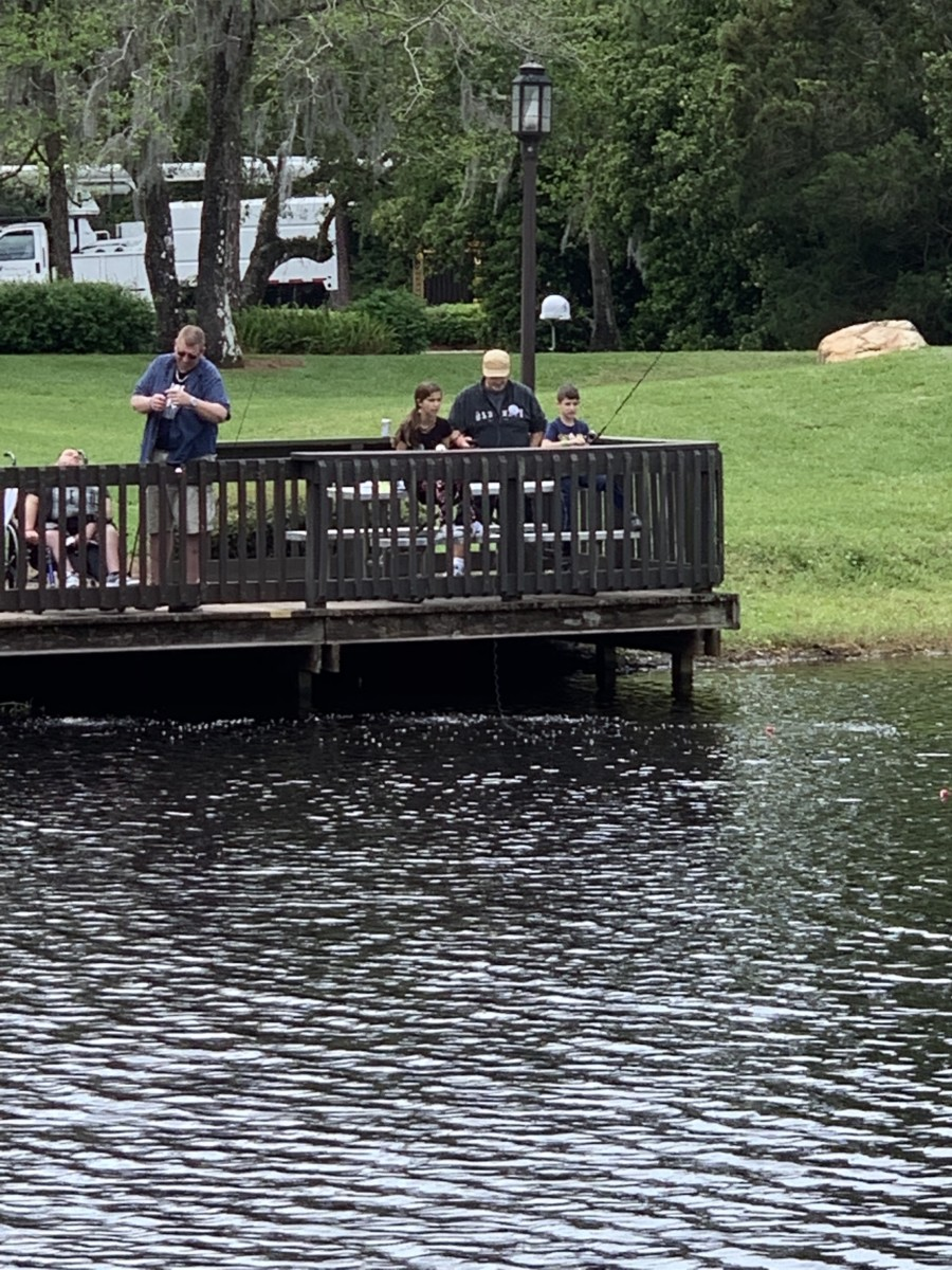 Fishing at Fort Wilderness 4