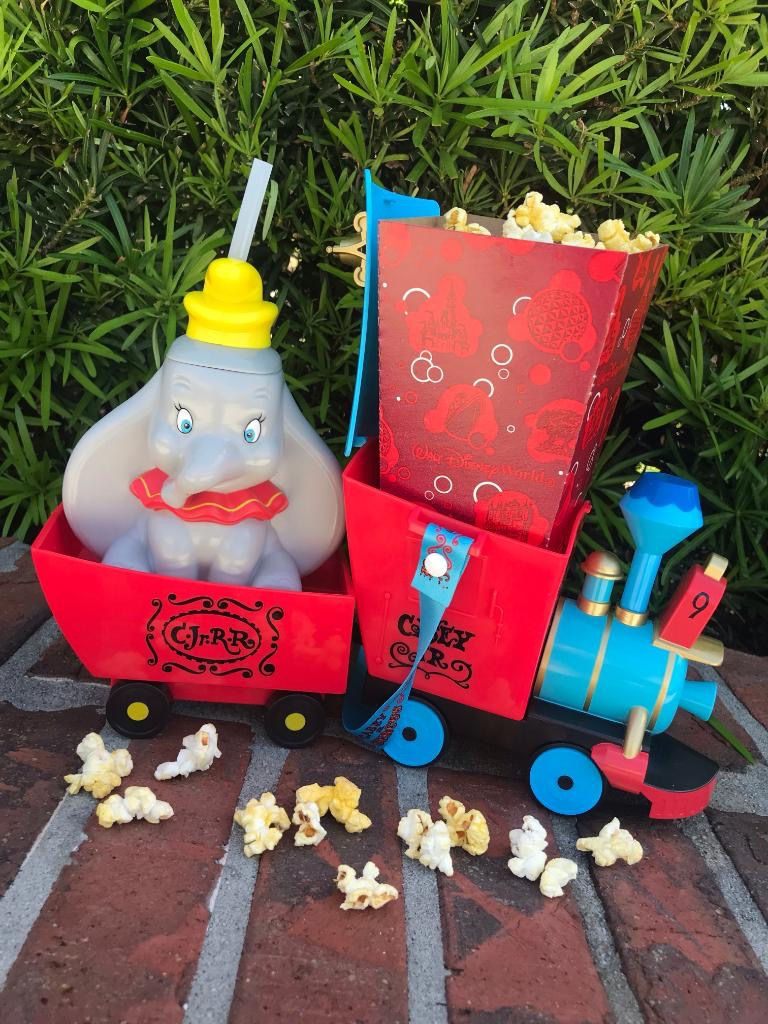 Don't Just Fly, Soar over to WDW for your Dumbo popcorn bucket and sipper! 1