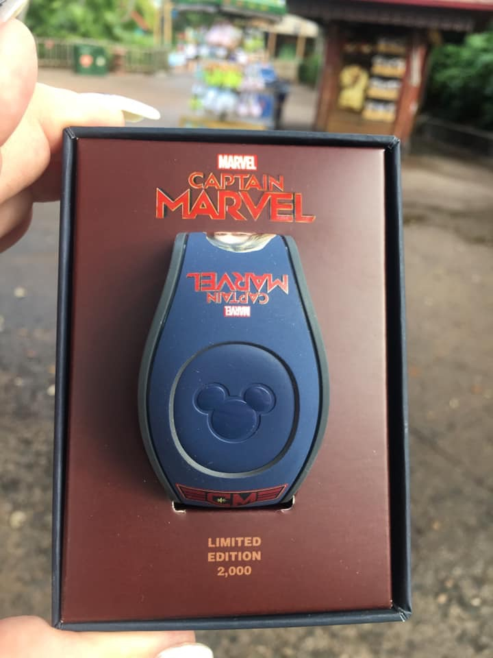 New Captain Marvel MagicBand! #captainmarvel 2