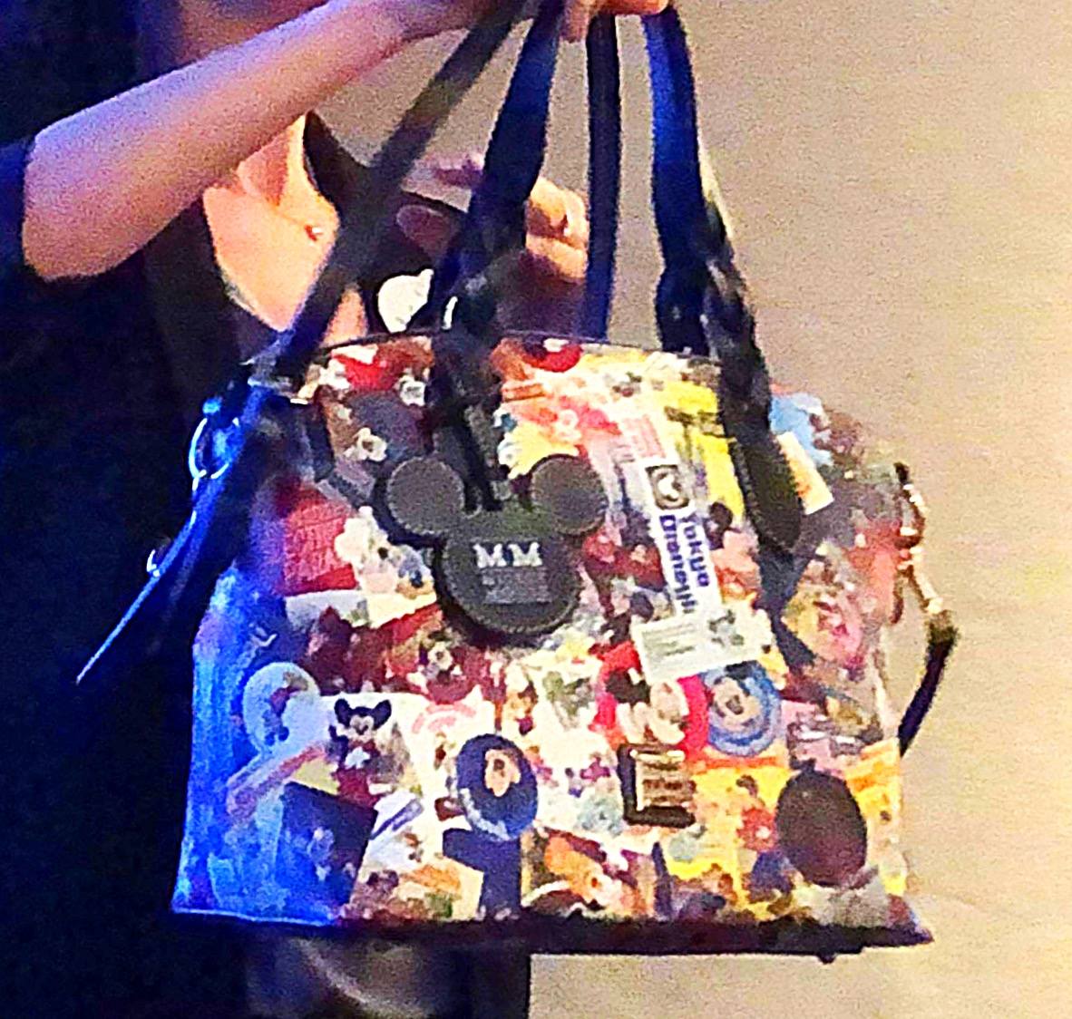 Sneak peek of New Dooney and Bourke Mickey Collage Through The Years Bags #disneystyle 2