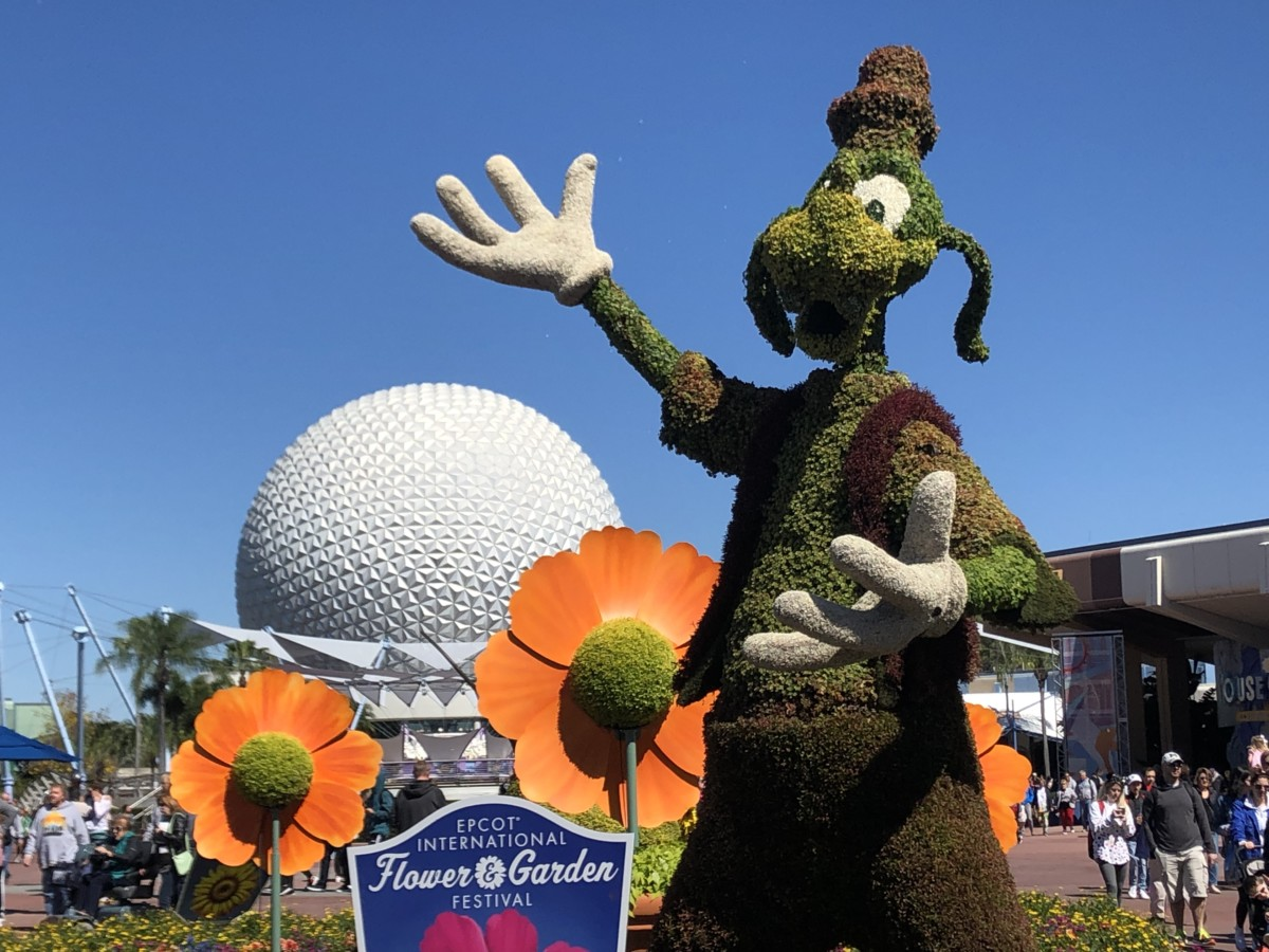 Photos from Opening Day of the Epcot International Flower and Garden Festival 2019! #FreshEpcot 14