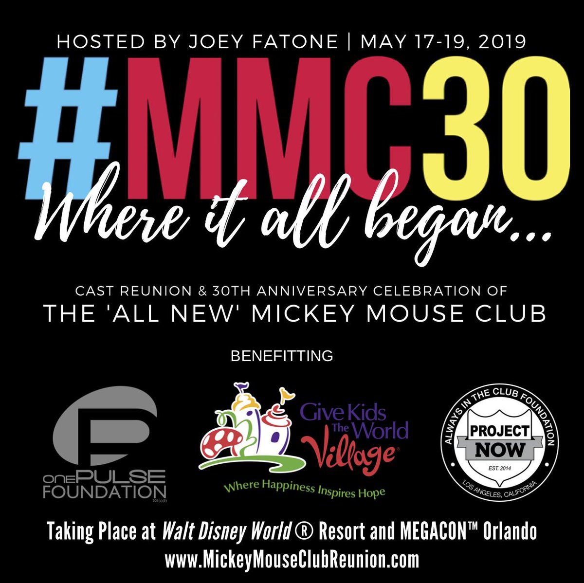 The 30th Anniversary of the Mickey Mouse Club is Coming To Orlando in May #MMC30 2