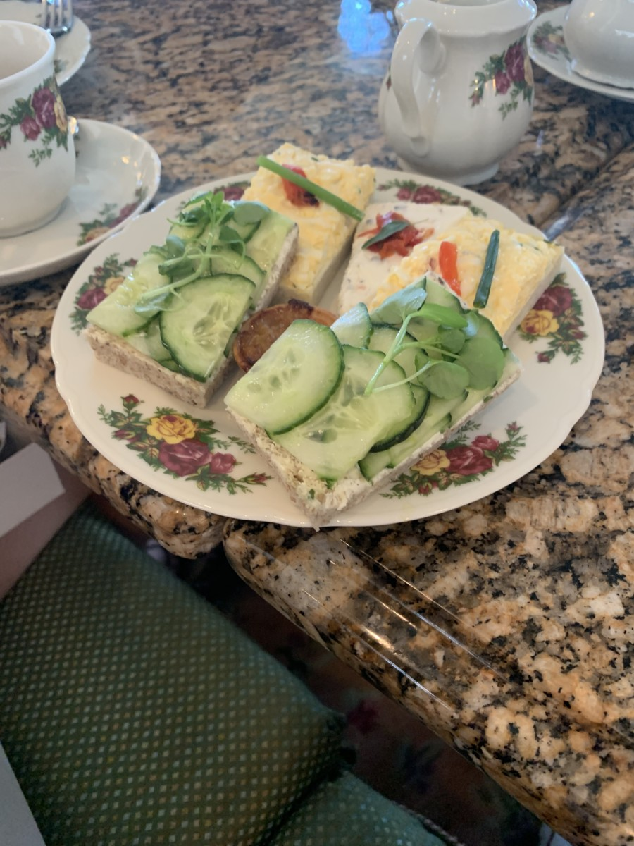 High Afternoon Tea Grand Floridian Style - Pinkies Up☕️ 4