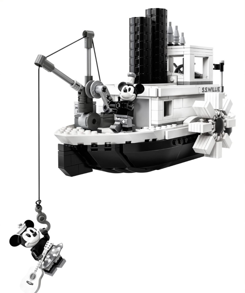 LEGO Steamboat Willie Set Reveal! Details Below! 3