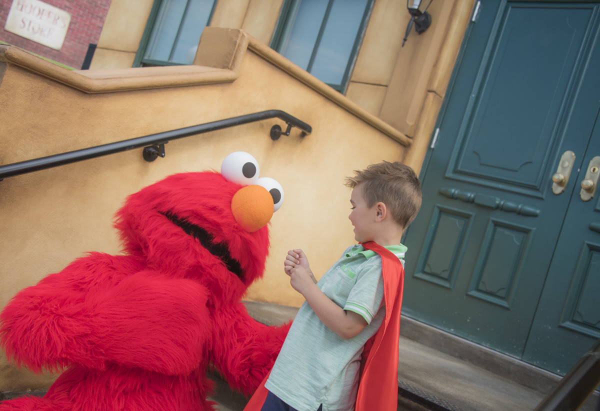 SeaWorld Entertainment And Sesame Workshop Announce Opening Of Sesame Street® At SeaWorld Orlando 2