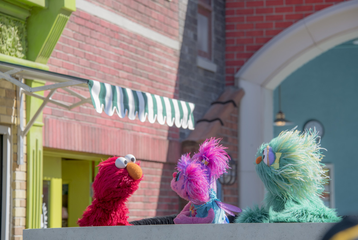 SeaWorld Entertainment And Sesame Workshop Announce Opening Of Sesame Street® At SeaWorld Orlando 4