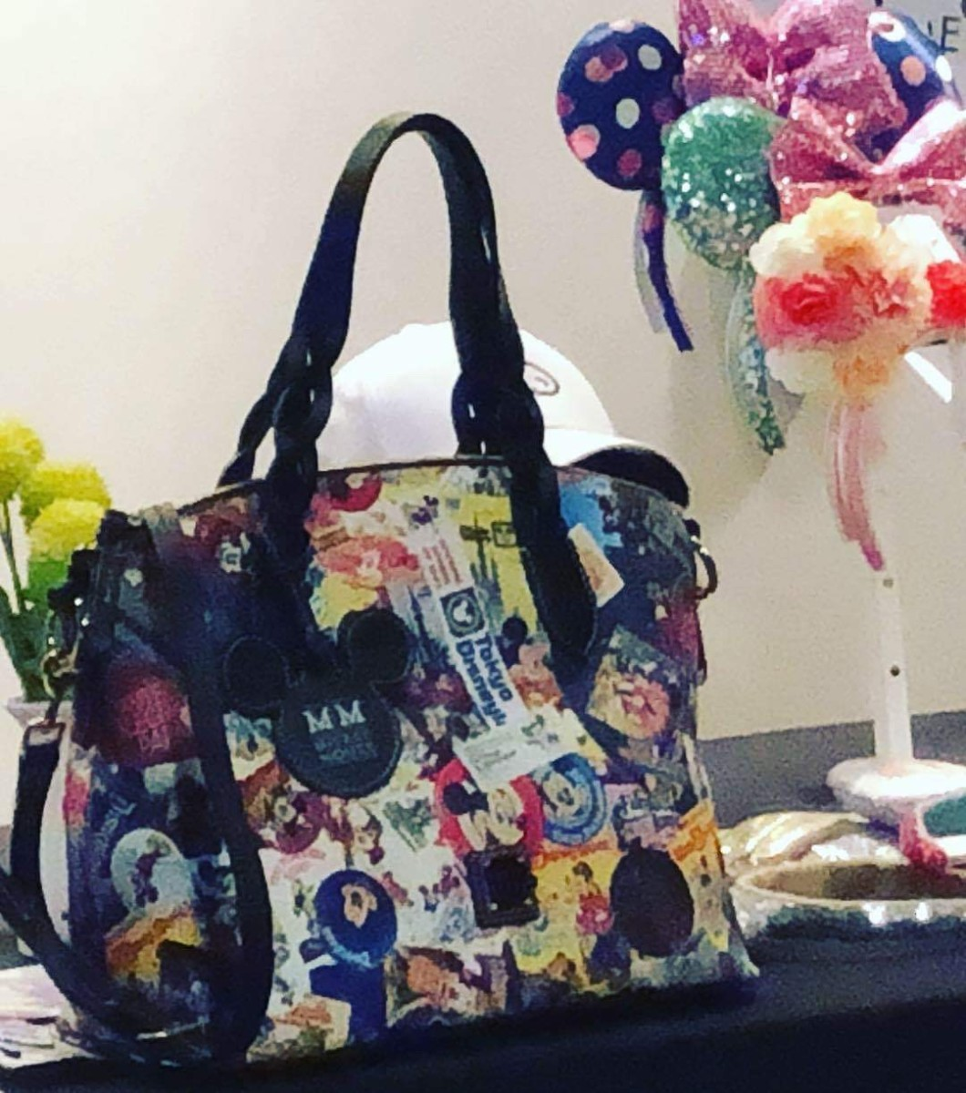 Sneak peek of New Dooney and Bourke Mickey Collage Through The Years Bags #disneystyle 3