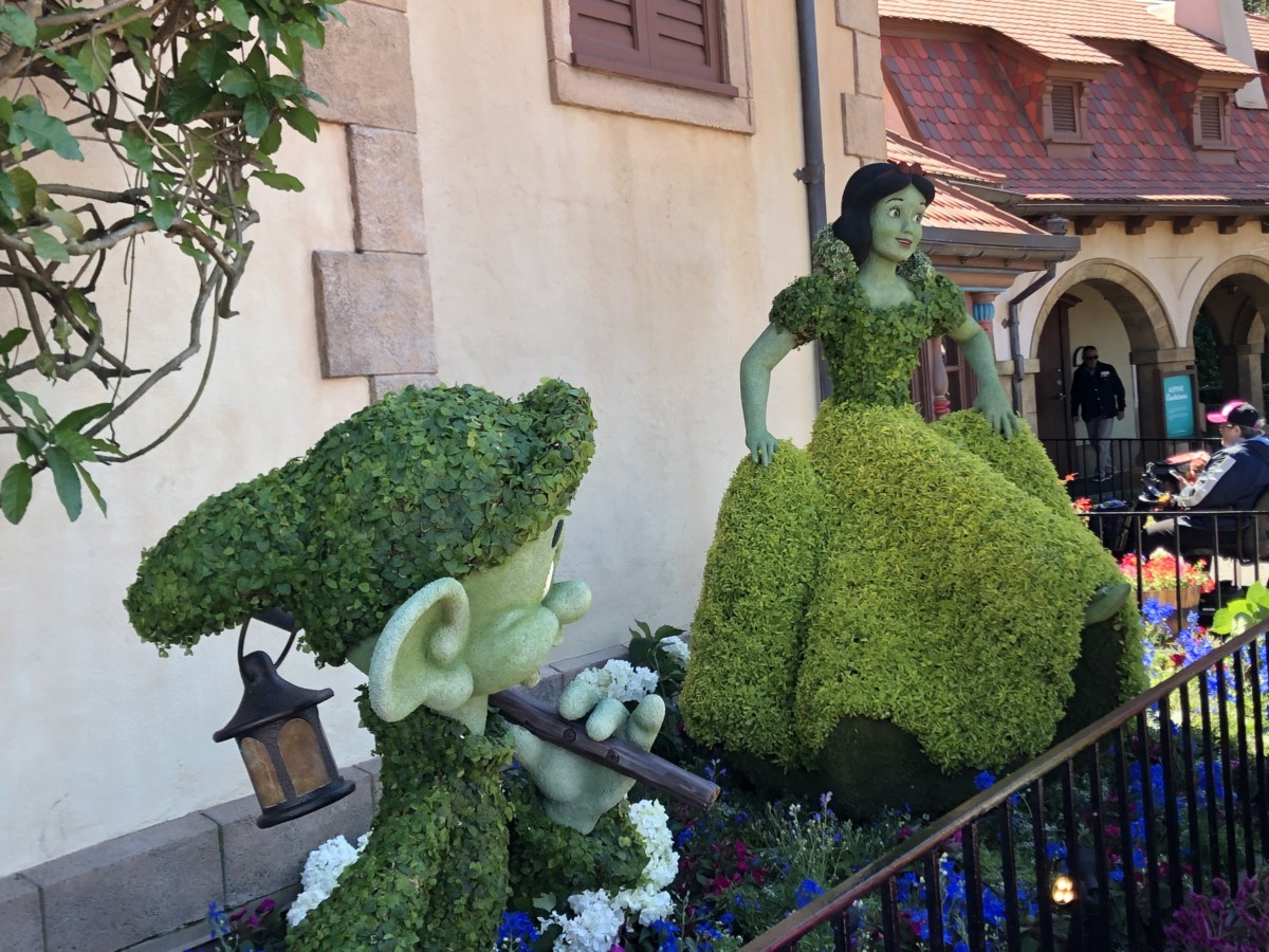 Photos from Opening Day of the Epcot International Flower and Garden Festival 2019! #FreshEpcot 20