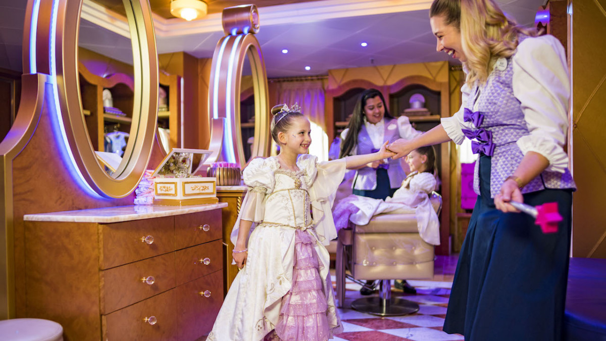 New Signature Rapunzel Makeover Debuts at Bibbidi Bobbidi Boutique Aboard Disney Ships 20