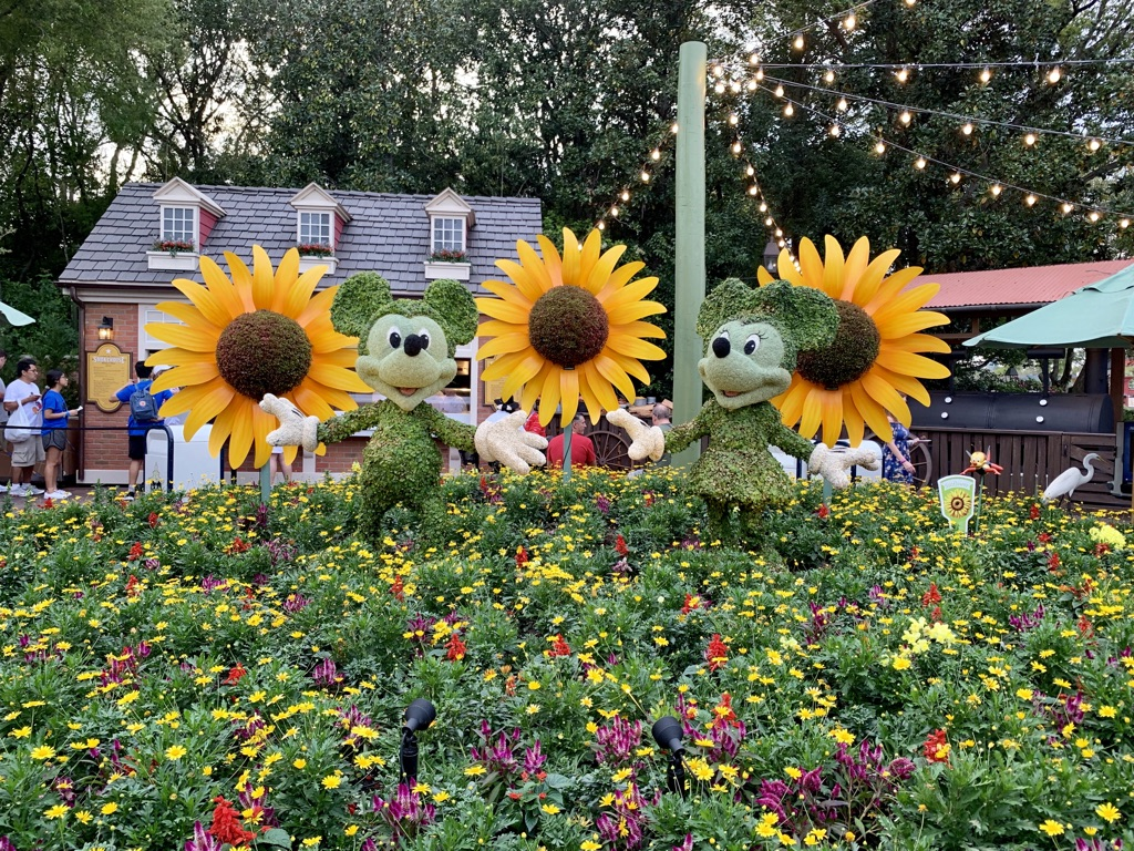 Topiaries at Epcot's Flower and Garden Festival 5