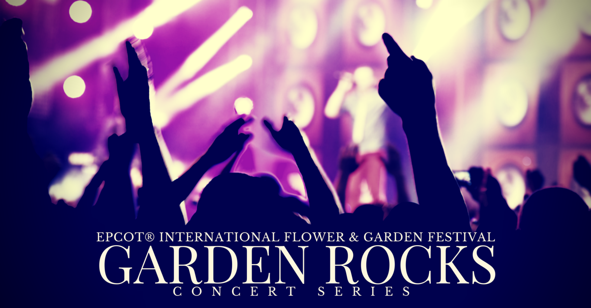 Garden Rocks Concert Series Schedule For 2019 1