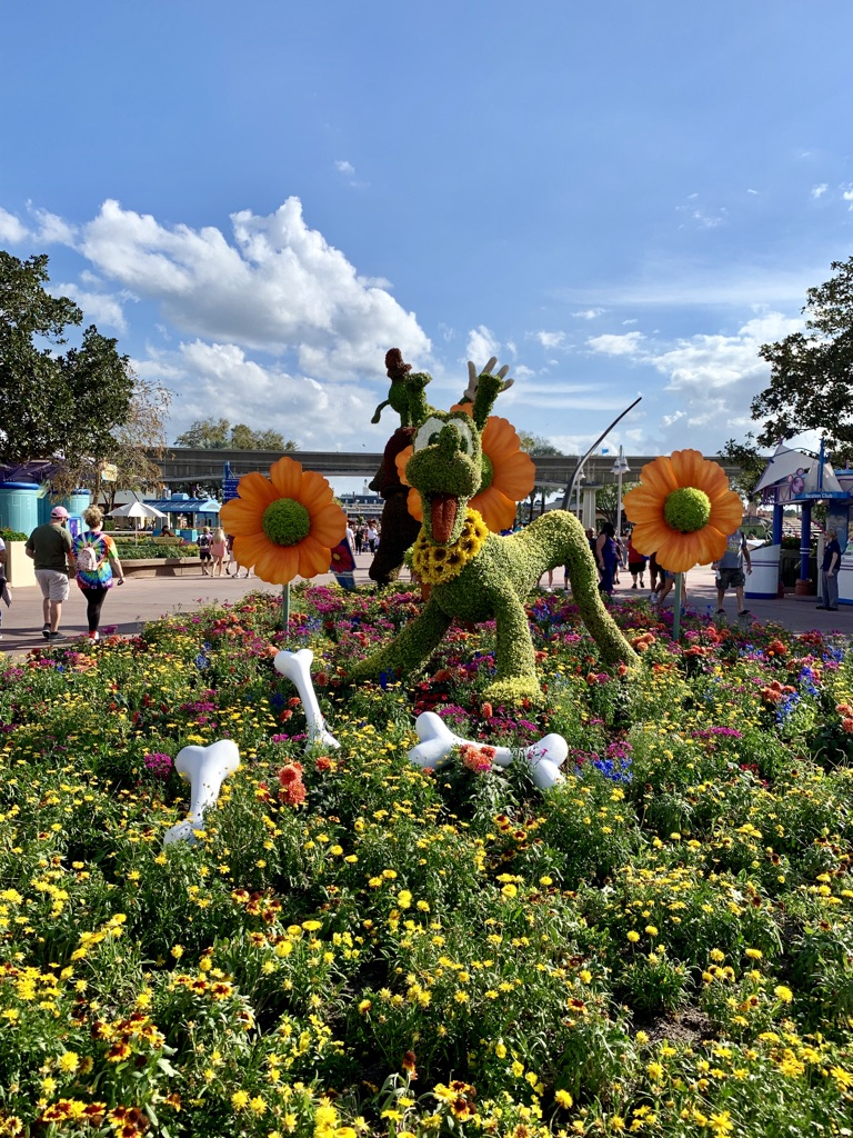 Topiaries at Epcot's Flower and Garden Festival 8