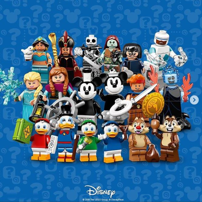 Breaking LEGO News! Disney Minifigures Series 2 Released 44