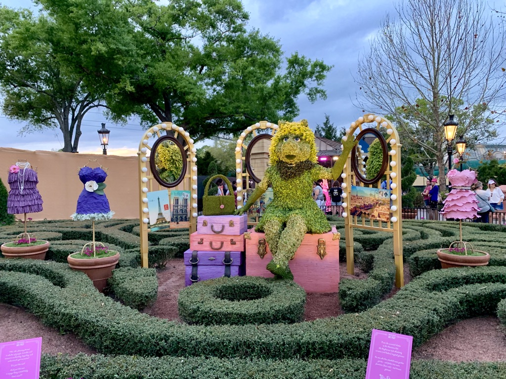 Topiaries at Epcot's Flower and Garden Festival 3