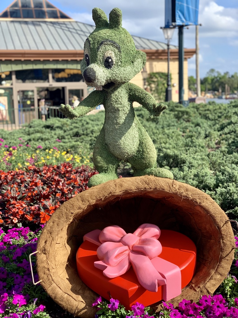Topiaries at Epcot's Flower and Garden Festival 9