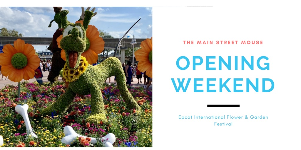 Opening Weekend of Epcot International Flower & Garden Festival 1
