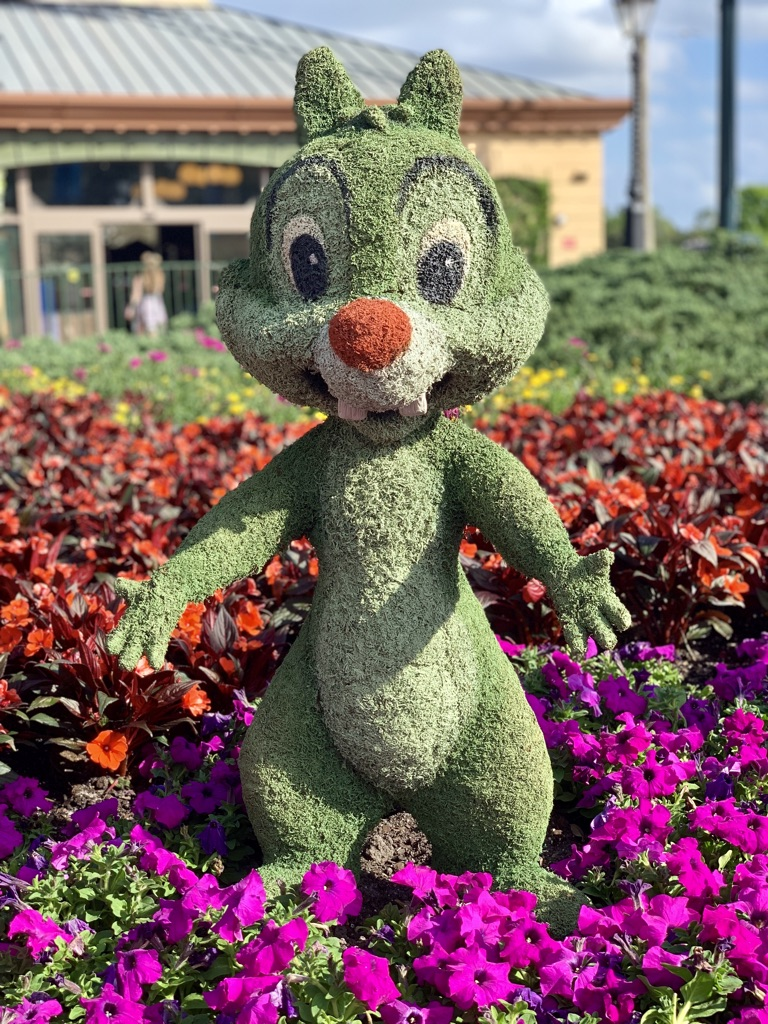 Topiaries at Epcot's Flower and Garden Festival 10