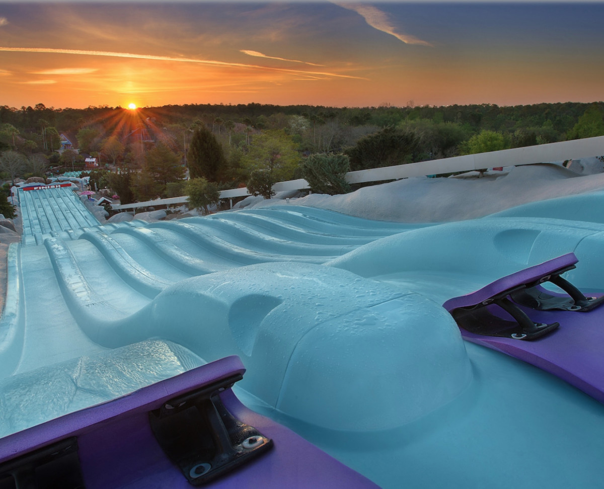Cooling Off at Blizzard Beach 5