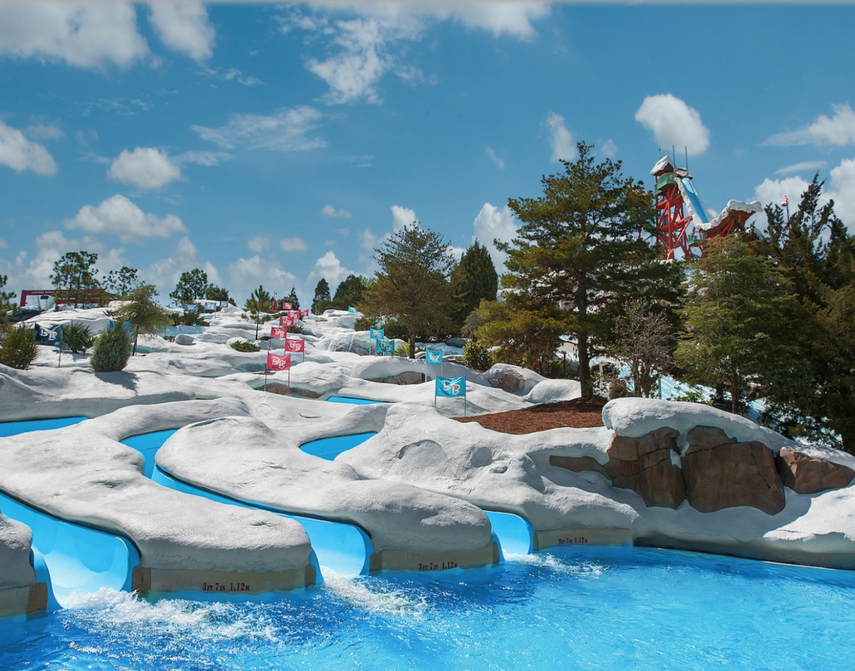 Cooling Off at Blizzard Beach 6
