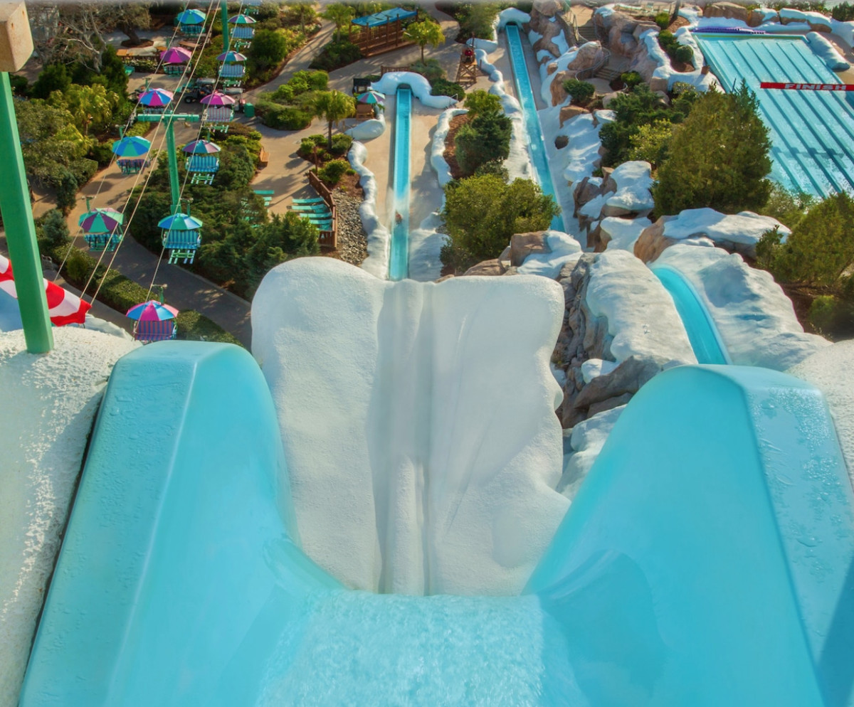 Cooling Off at Blizzard Beach 3