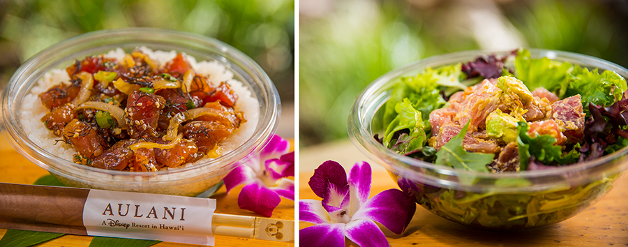 Food Bowls from Ulu Cafe at Aulani – A Disney Resort & Spa