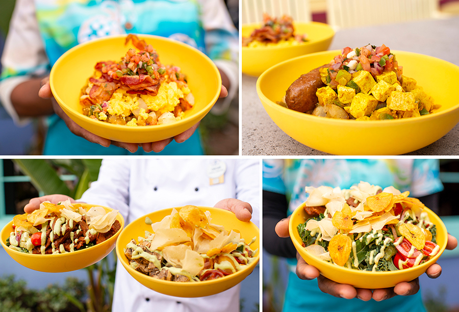 Made-to-Order Island Bowls from Centertown Market at Disney's Caribbean Beach Resort