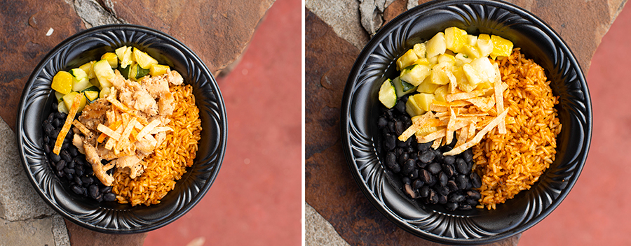 Food Bowls from Pecos Bill Tall Tale Inn and Café at Magic Kingdom Park