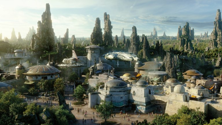 Reservations to Visit Star Wars: Galaxy's Edge at Disneyland Park Available May 2 or Book a Stay at a Disneyland Resort Hotel Now 3