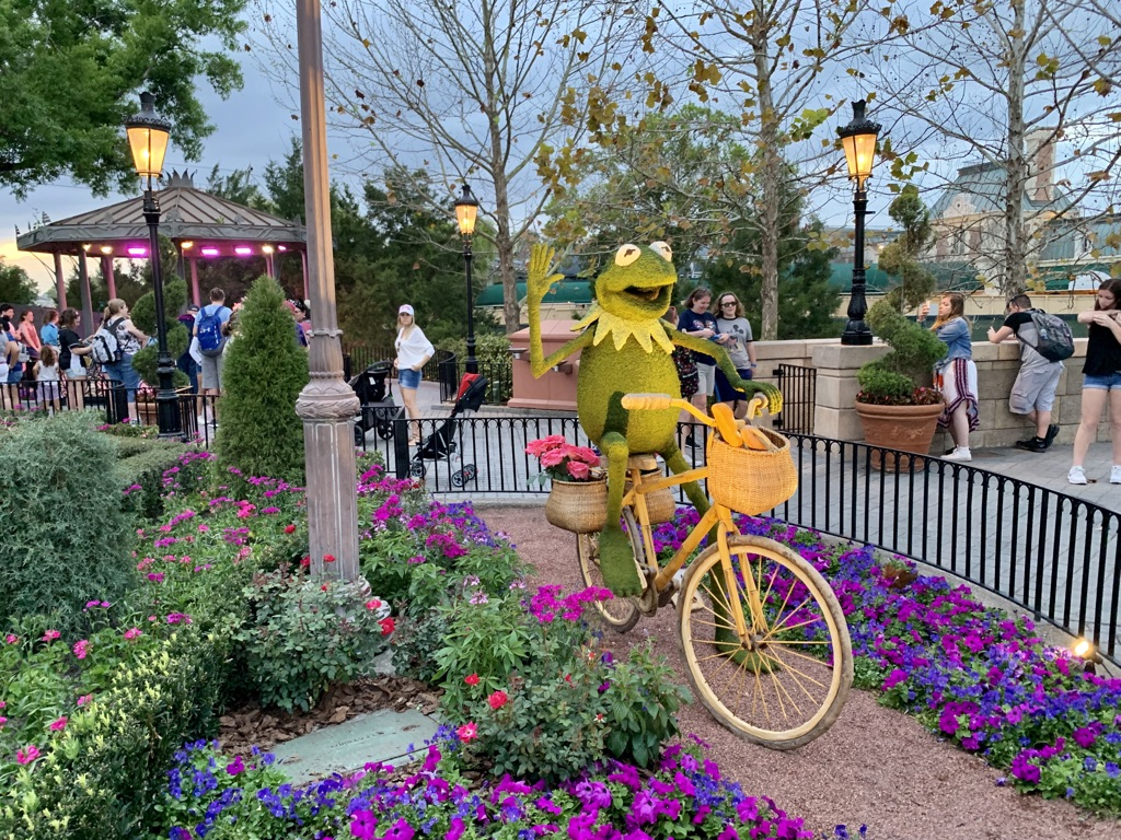 Topiaries at Epcot's Flower and Garden Festival 2