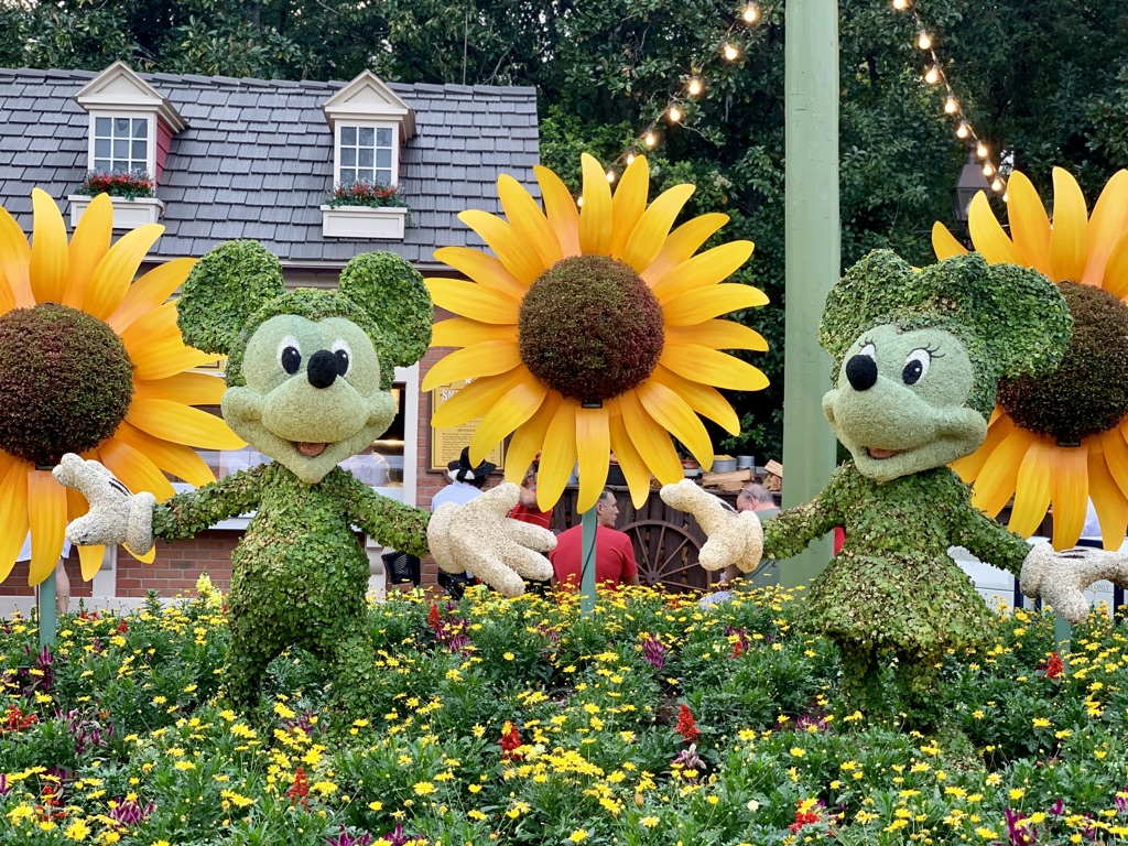 Topiaries at Epcot's Flower and Garden Festival 4