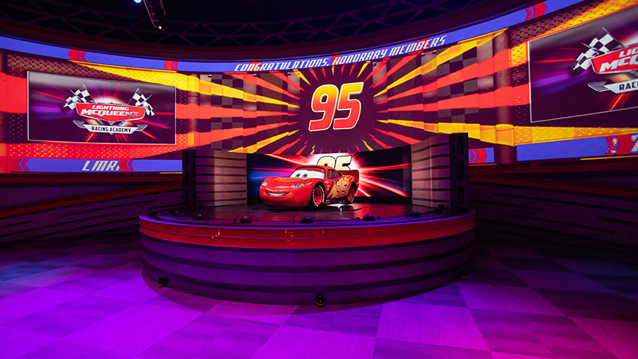 The All-New Lightning McQueen's Racing Academy Debuts March 31 at Disney's Hollywood Studios 1