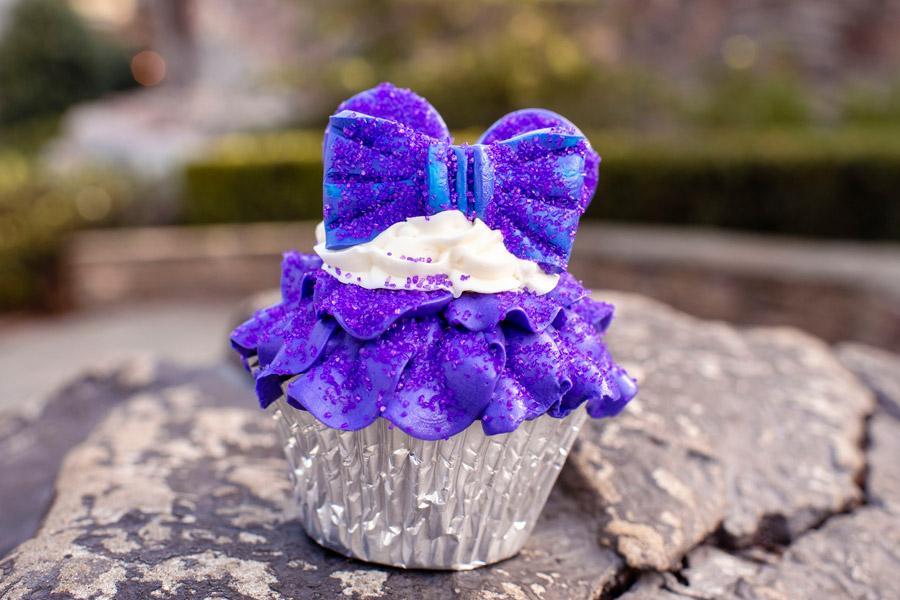 Purple Cupcakes at Kringla Bakery at Epcot