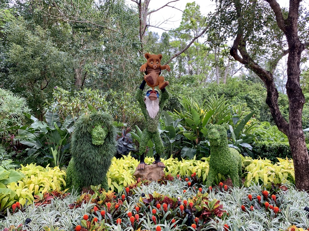 Topiaries at Epcot's Flower and Garden Festival 7