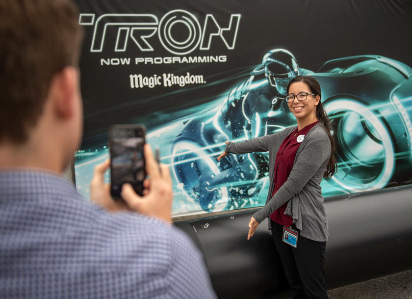 TRON Attraction Construction Milestone Celebrated at Magic Kingdom Park 1