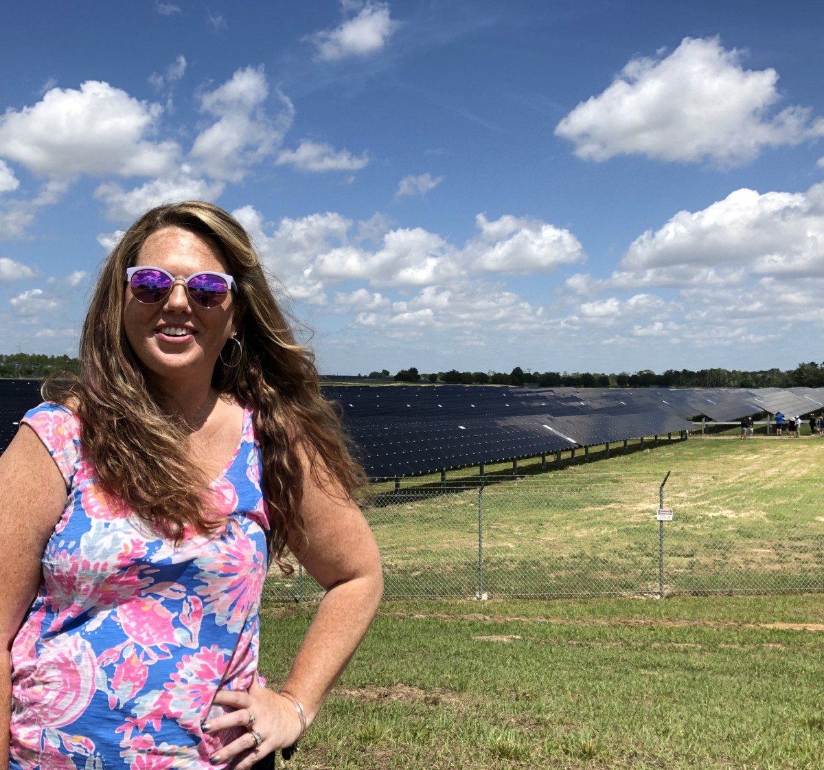 Touring the New Solar Facility at Walt Disney World #earthmonth 1