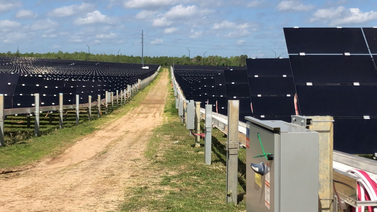 Touring the New Solar Facility at Walt Disney World #earthmonth 2