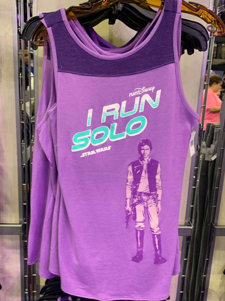 Merchandise from the 2019 Star Wars Rival Run Weekend 9