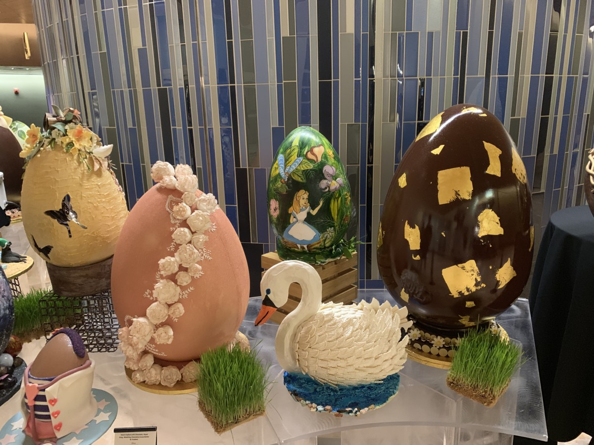 Fabulous Easter Egg Display at The Contemporary Resort 15