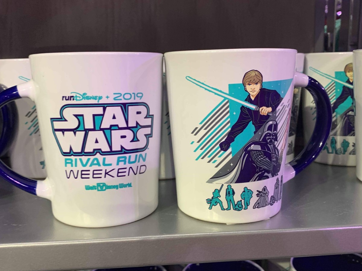 Merchandise from the 2019 Star Wars Rival Run Weekend 8