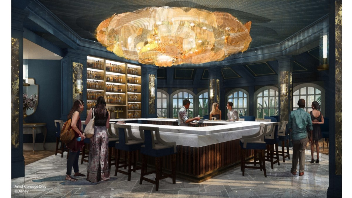 New Beauty and the Beast Themed Bar Coming to the Grand Floridian 1