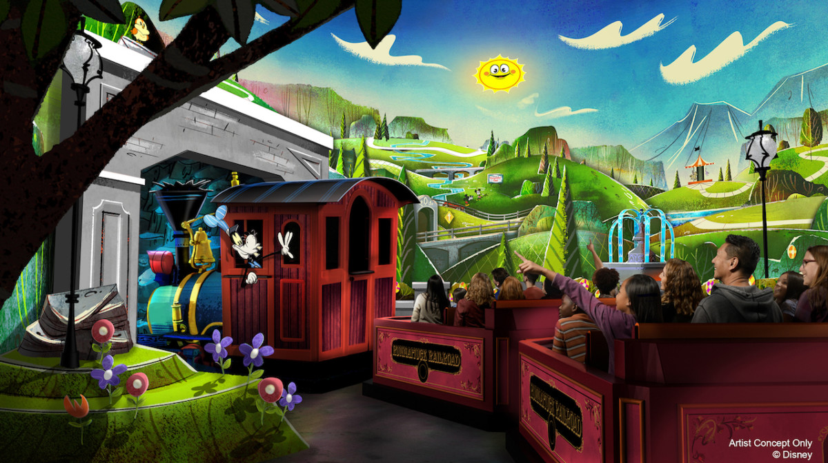 Mickey & Minnie's Runaway Railway to Roll into Disneyland Park 9